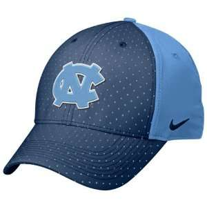 Nike North Carolina Tar Heels (UNC) Carolina Blue Navy Blue Perforated