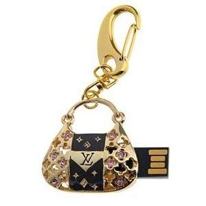 8GB Handbag Design U Disk USB Flash Memory Drive (Golden