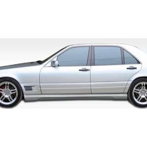 Mercedes S Class W140 W 1 Side Skirts ( long wheel base) Automotive