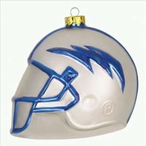 Air Force Falcons 3 Collegiate Glass Football Helmet Holiday Ornament