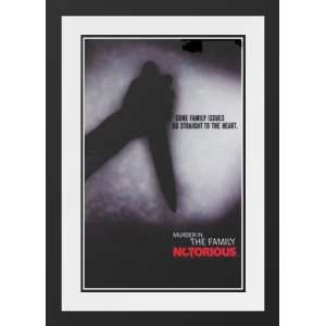 Notorious (TV) 32x45 Framed and Double Matted TV Poster