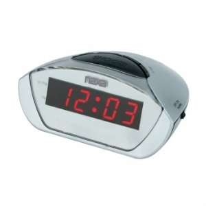Naxa NRC 158 Digital Alarm Clock with Snooze Camera