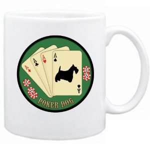 New  Scottish Terrier / Poker Dog   Mug Dog