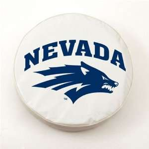 Nevada Wolf Pack Logo Tire Cover (White) A H2 Z Sports