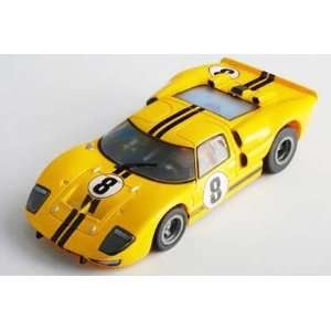 64 HO AFX Analog Slot Cars   Collector Series Clear   SRT   Ford GT40