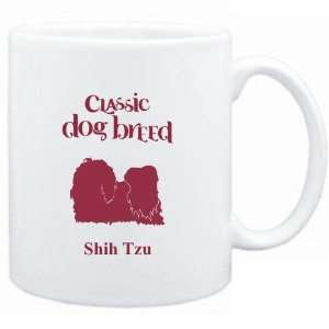 Mug White  Classic Dog Breed Shih Tzu  Dogs  Sports