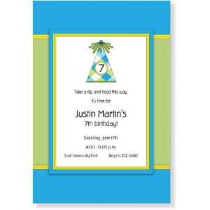 Childrens Birthday Party Invitations   M33 H8