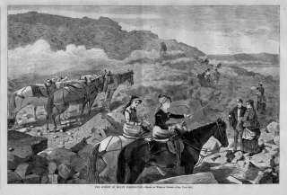 WINSLOW HOMER, SUMMIT OF MOUNT WASHINGTON ANTIQUE PRINT