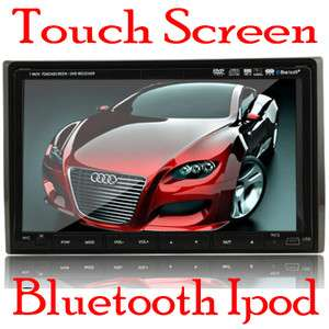 HD 7 Car DVD Player Touch Screen Double Din+BLUETOOTH+Ipod+Radio