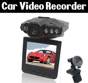 IR LED HD 720P Motion Detection Car DVR Audio Video Recorder with