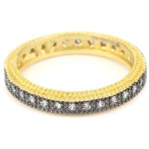 Belargo Jewelry CLASSICS Two Tone Classic Pave Stacking