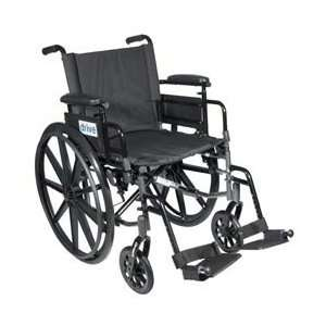 High Strength, Lightweight Dual Axle, Height Adjustable Wheelchair