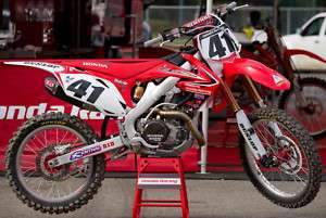 2011 Team Honda HRC Racing Graphic Decal Sticker kit 10 CRF450R CRF