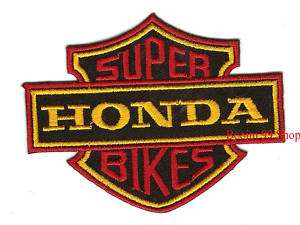 HONDA Logo EMBROIDERED Iron Patch T Shirt Sew Cloth