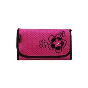 New Adorable Daisy Love Hot Pink Cosmetic Bag with Hanger