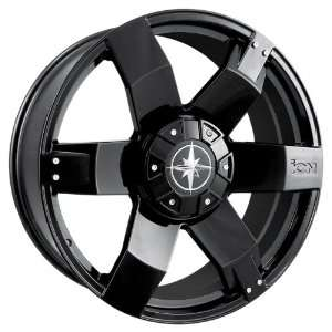 Ion Alloy 185 Black Wheel (24x9.5/12x135mm) Automotive