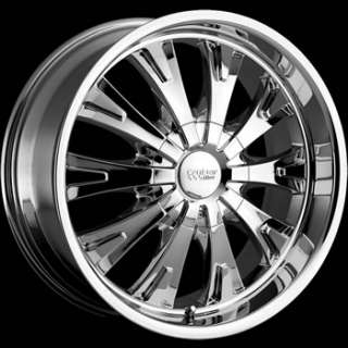 17x7.5 Chrome Wheel Cruiser Alloy Cake 5x112 5x120
