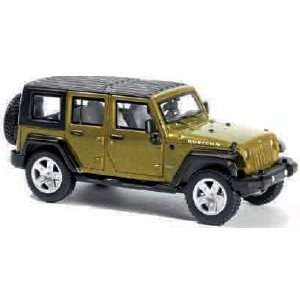 99087080 07 Jeep Wrangler Unlimited 4 Door White HO Toys & Games
