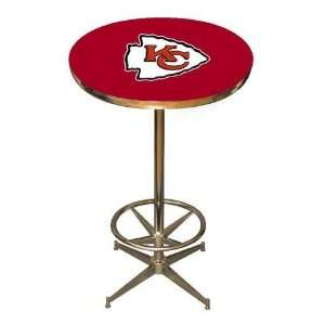 Kansas City Chiefs NFL 40in Pub Table Home/Bar Game Room