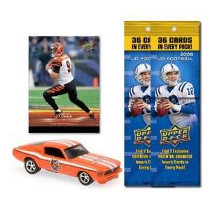 Cincinnati Bengals 1967 Ford Mustang Fastback Die Cast with Carson