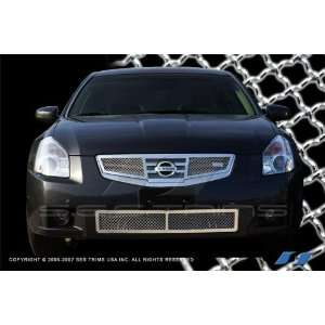 2007 2008 Nissan Maxima Chrome Mesh Grille Grill Insert Automotive