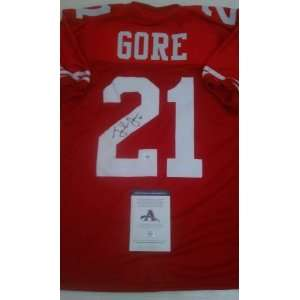Frank Gore Signed San Francisco 49ers Jersey Everything