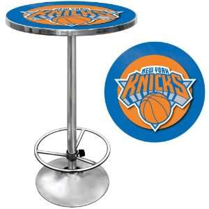 New York Knicks NBA Chrome Pub Table   Game Room Products