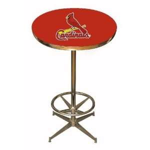St Louis Cardinals 40in Pub Table Home/Bar Game Room