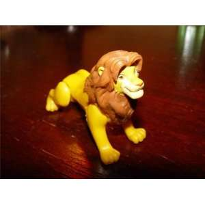 simba lion disney vintage toy figure doll king jungle