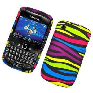 Black Rainbow Color Zebra Soft Silicone Skin Gel Cover