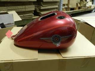 FLSTF Softail Fatboy Fuel Gas Tank Sierra Red 62208 04BJF
