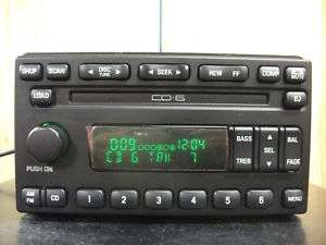Ford Explorer Mustang factory 6 disc CD player radio 01 02 03 04 1L2F