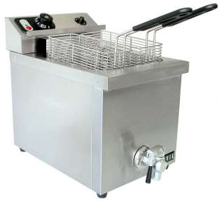 Vollrath 40709 15lb Commercial Electric Deep Fryer 220V 029419718894