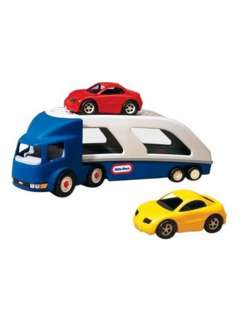 LARGE CAR CARRIER TRUCK TRANSPORTER NEW LITTLE TIKES