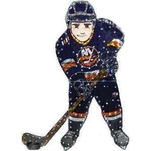 NHL New York Islanders Lighted Hockey Player Car Window Decoration