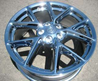 EXCHANGE YOUR STOCK 4 NEW 19 FACTORY NISSAN MAXIMA OEM CHROME WHEELS