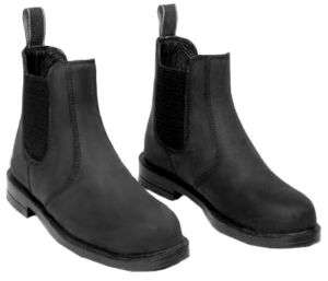 Horse Riding Steel Toe Jodhpur Boots Ladies 6 Black