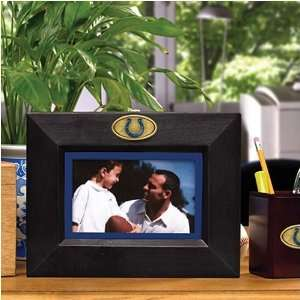 Indianapolis Colts Black Wooden Landscape Picture Frame