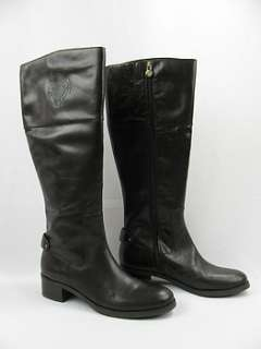Etienne Aigner Costa Chocolate Tall Boots Womens 7M
