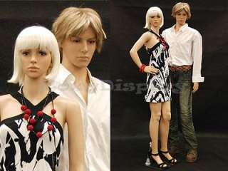 Manequin Manikin Mannequin Display Dress Form PS KEN +FREE WIG
