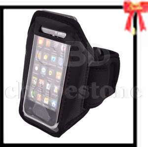 Sport Arm Band Case Cover for T Mobile myTouch 4G Black
