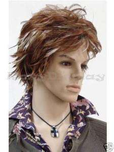 Male Wig Mannequin Head Hair for Mannequin #WG M17