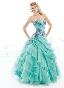 Embroidery Quinceanera/Wedding/Prom/Party/ dress/ball gown ALL SZ