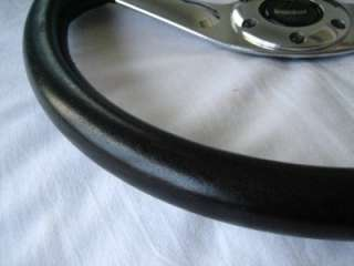 MOMO Leather steering wheel Alfa chevy lancia Tr6 fiat