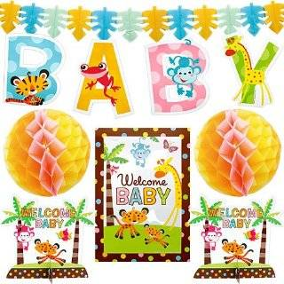 Amscan 200411 Fisher Price Baby Shower Decorating Kit