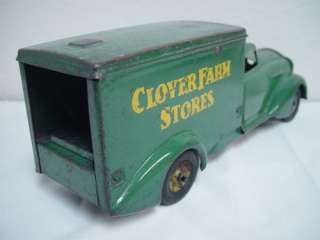 Metalcraft Clover Farm Stores Pressed Steel Toy Truck