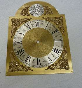 GERMAN MADE GRANDFATHER CLOCK DIAL WITH ROMAN NUMERALS FOR CHAIN