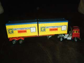 1973 MATCHBOX SUPER KINGS K 17 TRAILER SCAMMELL TRACTOR