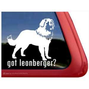 Got Leonberger? ~ Leonberger Vinyl Window Auto Decal