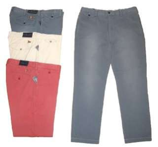 POLO RALPH LAUREN MENS CASUAL FLAG SLIM GI FIT CHINO PANTS